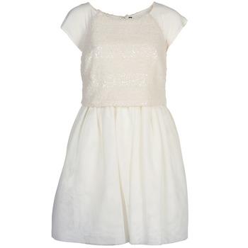 Textiel Dames Korte jurken Naf Naf LYMELL Wit