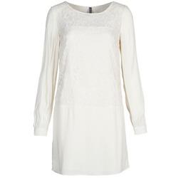 Textiel Dames Korte jurken Naf Naf LYNO Ecru