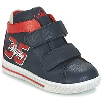 Schoenen Jongens Hoge sneakers Mod'8 STARIUS Marine / Rood