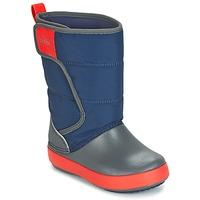 Schoenen Kinderen Snowboots Crocs LODGEPOINT SNOW BOOT K Marine