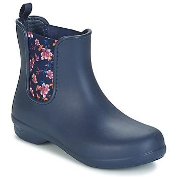 Schoenen Dames Laarzen Crocs CROCS FREESAIL CHELSEA Marine