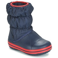 Schoenen Jongens Snowboots Crocs WINTER PUFF BOOT KIDS Marine