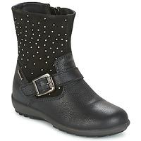 Schoenen Meisjes Hoge laarzen Primigi (enfant) PCIGT 8569 Zwart