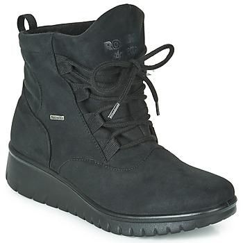 Schoenen Dames Enkellaarzen Romika VARESE N08 Zwart