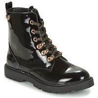 Schoenen Dames Laarzen Kaporal SANGOAN Zwart