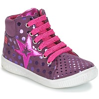 Schoenen Meisjes Hoge sneakers Agatha Ruiz de la Prada FLOW Violet