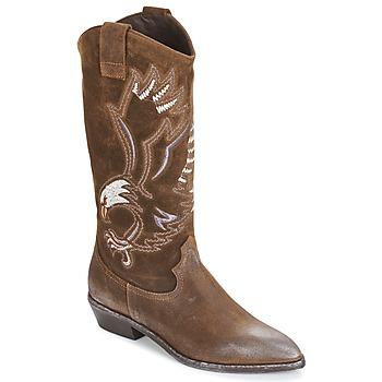 Schoenen Dames Hoge laarzen Now SATURNA Brown