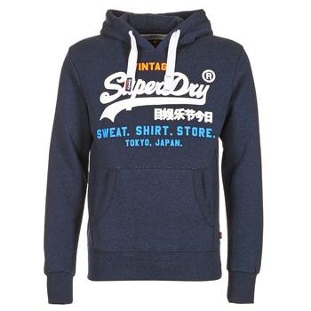Textiel Heren Sweaters / Sweatshirts Superdry SHIRT STORE TRI Marine