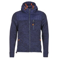 Textiel Heren Sweaters / Sweatshirts Superdry MOUNTAIN QUILTED SHERPA Marine