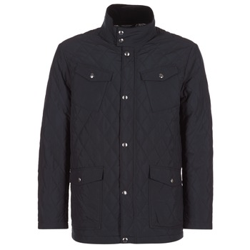 Textiel Heren Wind jackets Gant THE CENTRAL POND QUILTER Zwart