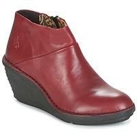 Schoenen Dames Laarzen Fly London SIPI 671 Rood
