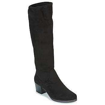 Schoenen Dames Hoge laarzen Caprice BELLA Zwart