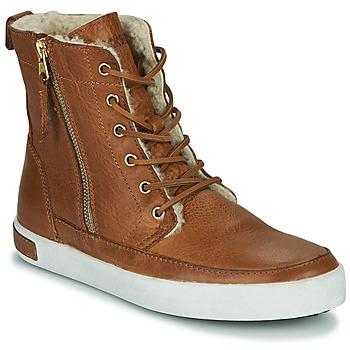 Schoenen Dames Hoge sneakers Blackstone CW96 Brown