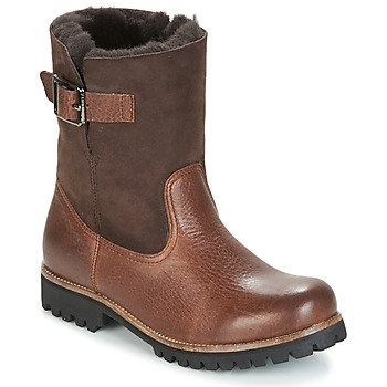 Schoenen Dames Laarzen Blackstone OL05 Brown