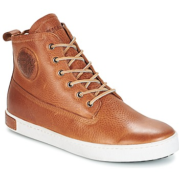 Schoenen Heren Hoge sneakers Blackstone GM06 Brown
