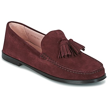 Schoenen Dames Mocassins Pretty Ballerinas CROSTINA RIOJA Bordeaux