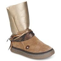 Schoenen Meisjes Hoge laarzen Catimini ROUGEGEORGE Cts / Taupe-cuivre / Dch / Glen