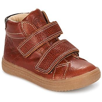 Schoenen Jongens Hoge sneakers GBB NAZAIRE Fauve