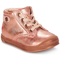 Schoenen Meisjes Hoge sneakers GBB REGINE Roze