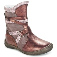 Schoenen Meisjes Laarzen GBB ROSANA Roze / Bordeaux