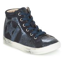 Schoenen Meisjes Hoge sneakers GBB MARTA Vtc / Marine / Dpf / Dolby