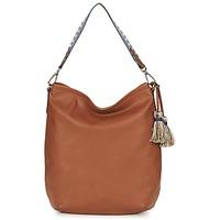 Tassen Dames Handtassen lang hengsel Esprit TATE HOBO Brown