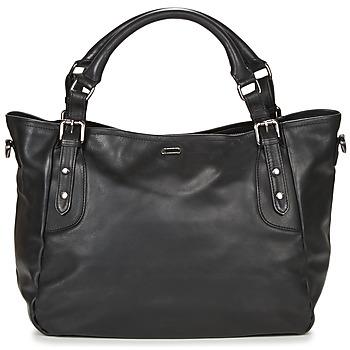 Tassen Dames Handtassen kort hengsel Ikks THE ARTIST Zwart