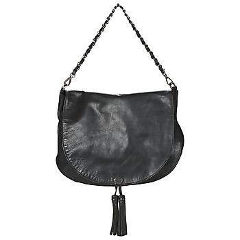 Tassen Dames Handtassen lang hengsel Ikks PLUMBER Zwart