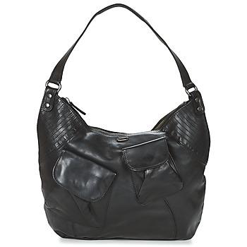 Tassen Dames Handtassen lang hengsel Ikks MRS FISHER Zwart