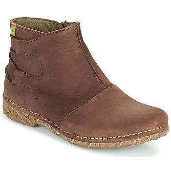 Schoenen Dames Laarzen El Naturalista ANGKOR Brown