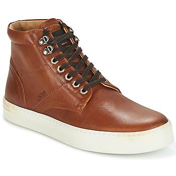 Schoenen Heren Hoge sneakers Hugo Boss Orange NOIR HALB LTWS COGNAC