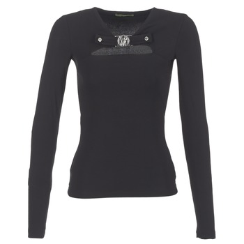 Textiel Dames Tops / Blousjes Versace Jeans B2HQA732 Zwart
