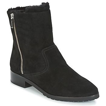Schoenen Dames Laarzen MICHAEL Michael Kors ANDI FLAT BOOTIE Zwart