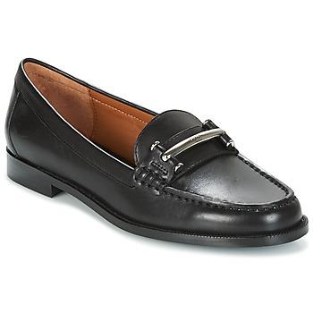 Schoenen Dames Mocassins Ralph Lauren FLYNN Zwart