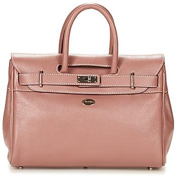 Tassen Dames Handtassen kort hengsel Mac Douglas BUNI PYLA XS Taupe / Roze