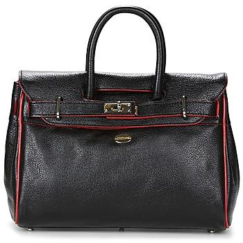 Tassen Dames Handtassen kort hengsel Mac Douglas BUNI PYLA XS Zwart / Rood