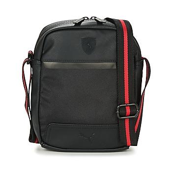 Tassen Heren Tasjes / Handtasjes Puma FERRARI LS PORTABLE Zwart