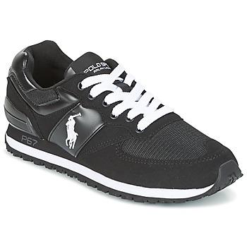 Schoenen Heren Lage sneakers Ralph Lauren SLATON PONY Zwart