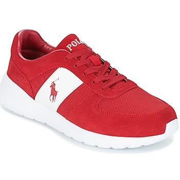 Schoenen Heren Lage sneakers Ralph Lauren CORDELL Rood