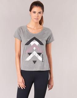 Textiel Dames T-shirts korte mouwen Only Play LINDA Grijs