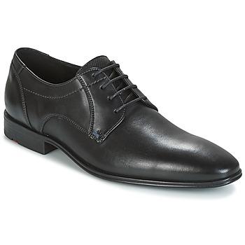 Schoenen Heren Derby Lloyd OSMOND Zwart