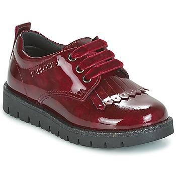 Schoenen Meisjes Derby Pablosky PONY Rood