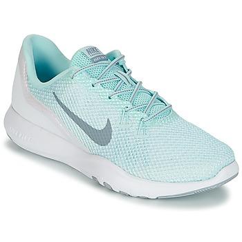 Schoenen Dames Fitness Nike FLEX TRAINER 7 REFLECT W Wit / Groen