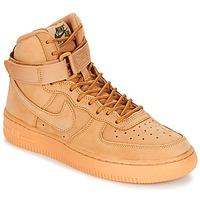Schoenen Kinderen Hoge sneakers Nike AIR FORCE 1 HIGH WB GRADE SCHOOL Honing