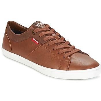 Schoenen Heren Lage sneakers Levi's WOODS Brown