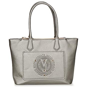 Tassen Dames Handtassen lang hengsel Versace Jeans ANTATAL Zilver