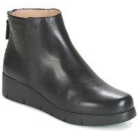 Schoenen Dames Laarzen Unisa FANI Zwart