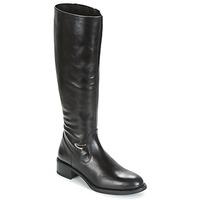 Schoenen Dames Hoge laarzen Unisa EDUCA Zwart