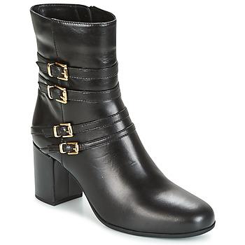 Schoenen Dames Enkellaarzen Unisa OPRA Zwart
