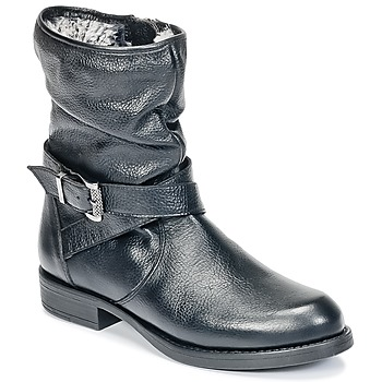 Schoenen Meisjes Laarzen Unisa GADIN Zwart